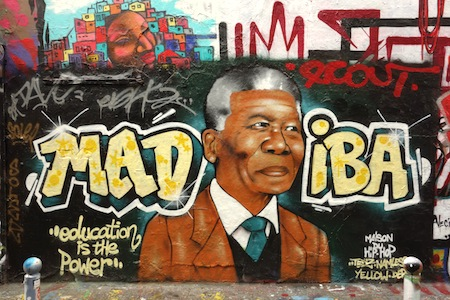 Street-Art, Paris, Mandela