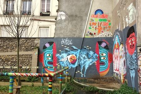 Street-Art, Paris, Ménilmontant