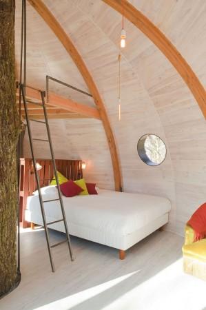 Cabane de luxe: les Galants