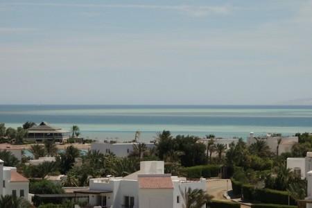 El Gouna en bord de Mer Rouge, Egypte