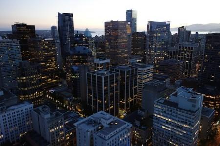 Vancouver vu d'en haut