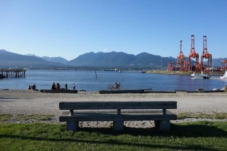 Le banc des Disparues de Vancouver