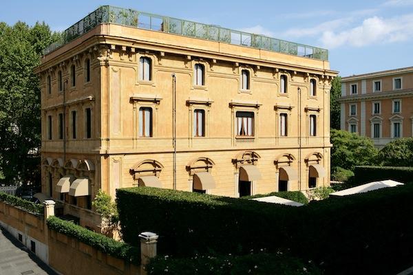 Veduta esterna della Villa