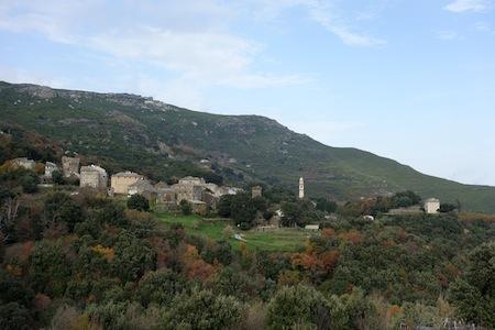 Nature aux alentours de Sisco, Cap Corse
